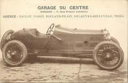 Themes Div-ref BB362- Garage Du Centre A Roanne -loire - Voiture Automobile -agence Ballot-voisin -rolland Pilain -tries - Roanne