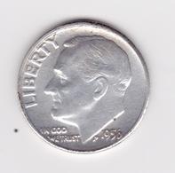 United States, 10c Roosevelt Dime, 1956, Philadelphia - 1946-...: Roosevelt