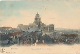 CPA - Belgique - Brussels - Bruxelles - Panorama Et Palais De Justice - Panoramische Zichten, Meerdere Zichten