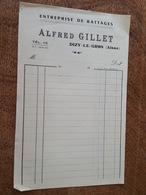 Entreprise De Battages - Alfred Gillet à Dizy Le Gros - Agriculture