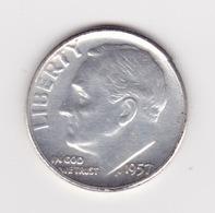 United States, 10c Roosevelt Dime, 1957, Philadelphia - Émissions Fédérales