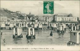 AK Boulogne-sur-Mer La Plage à L'Heure Du Bain (31411) - Non Classés