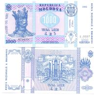1992. Moldova, 1000L/1992, P-18, UNC - Moldova