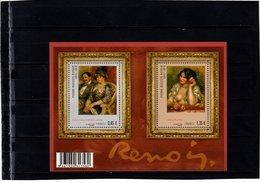 Blocs & Feuillets N° F4406 **--Pierre-Auguste Renoir--2009-- Timbres N° 4406 & 4407 - Nuevos