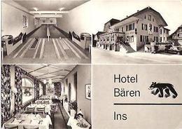 Carte PUB - INS - Hôtel BÄREN - BE Berne