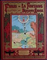 Fables De La Fontaine - Illustrées Par Benjamin Rabier - Librairie Illustrée Jules Tallandier Éditeur - Tirage Limité . - Bücher, Zeitschriften, Comics