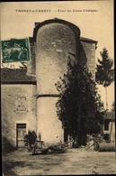 Cp Thorey Sur Charny Yonne, Tour Du Vieux Chateau - France