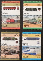 Nevis 1983-86 Locomotives  LOT - West Indies