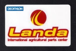 Carte Cadeau DECATHLON.  Landa.   International Agricultural Parts Center.  250€.  Gift Card.  Geschenkkarte - Cartes Cadeaux