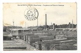 Gare De PORT D'ATELIER   (cpa 70)  Vue Générale De L'usine De Créosotage     -  L 1 - France