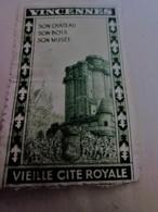 1937 VINCENNES VIEILLE CITE ROYALE SON CHÂTEAU - SON BOIS- SON MUSÉE -Timbre Touché En Bas Vignette Erinnophilie -Neuf * - Andere
