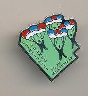 CHAMPIONNAT FRANCE MULHOUSE 1992 - Paracaidismo