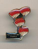 VOILE CONTACT FRANCE - Paracadutismo
