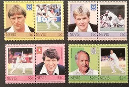 Nevis 1984 Cricket Players LOT - West Indies