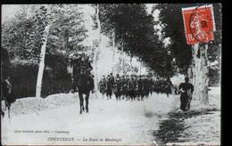 45, Courtenay, La Route De Montargis - Courtenay