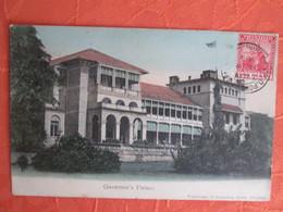 Trinidad . Governor S Palace  . Rare . Dos 1900 - Trinidad
