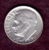 United States, 10c Roosevelt Dime, 1959, Philadelphiar - Émissions Fédérales