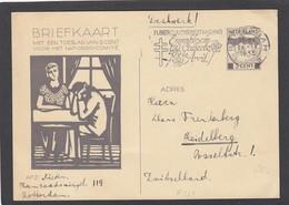 GANZSACHE AUS ROTTERDAM,ALS DRUCKSACHE,NACH HEIDELBERG. P227. - Postal Stationery