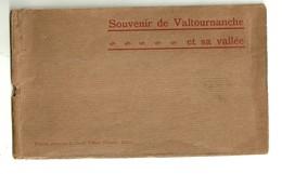 """3379 """"SOUVENIR DE VALTOURNANCE ET SA VALLEE"""" FOTOCARTOLINE ORIGINALI - Italie"""