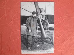 Marius Lacrouze Pilotant Un Monoplan Depurdussin - Aviateurs