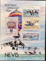 Nevis 1983 1st Manned Flight, Bicent. S/S - West Indies