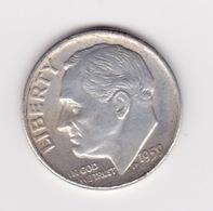 United States, 10c Roosevelt Dime, 1959-D, Denver - Émissions Fédérales