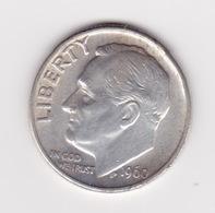 United States, 10c Roosevelt Dime, 1960, Philadelphia - Émissions Fédérales