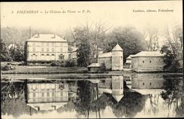Cp Folembray Aisne, Le Chateau Du Viver - Autres Communes
