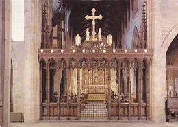 England Newcastle Upon Tyne Cathedral Church Of St Nicholas Rood Screen Postcard Unused Good Condition - Newcastle-upon-Tyne