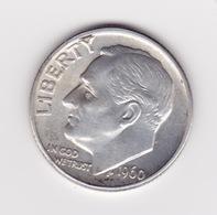 United States, 10c Roosevelt Dime, 1960-D, Denver - 1946-...: Roosevelt