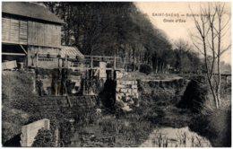76 SAINT-SAENS - Scierie Hartout - Chute D'eau - Saint Saens