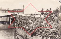 Photo 14-18 BREST - Départ Des Soldats Américains (A210, Ww1, Wk 1) - Brest