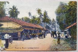 Ceylon Road To Mount Lavinia - Sri Lanka (Ceylon)