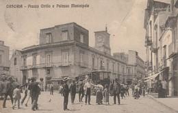 CASORIA - PIAZZA CIRILLO E PALAZZO MUNICIPALE - Casoria
