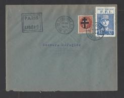 FRANCE. YT   Enveloppe F.F.I.  26 Août 1944 - Liberation