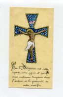 Image Pieuse Peinte à La Main - Que Le Seigneur Soit Votre Garde ....Jésus Sur La Croix- - Images Religieuses