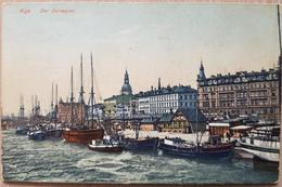 Russia Riga Der Dünaquai - Russia