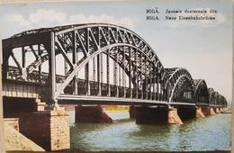 Russia Riga Eisenbahn Brücke - Russia