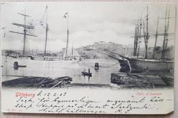 Sweden Göteborg Hamnen 1903 - Svezia