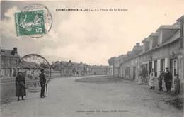 QUINCAMPOIX - La Place De La Mairie - France