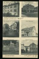 Lauterecken 1918 Kriegerdenkmal Schloss Veldenz Amstgericht Schulhaus Pfarrhaus Rentamt Mit Glanpartie Carl Keller - Allemagne