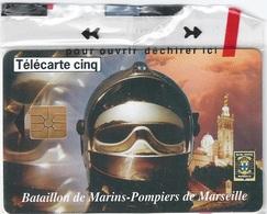 Télécarte Bataillon De Marin Pompiers De Marseille - Firemen
