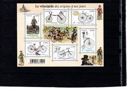 Blocs & Feuillets N° F4555 **--Le Vélocipède--2011-- Timbres N° 4555 à 4560 - Sheetlets
