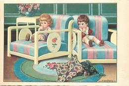 Themes Div-ref BB334- Illustrateurs - Illustrateur  Enfants A Bertiglia - Carte Bon Etat - - Bertiglia, A.