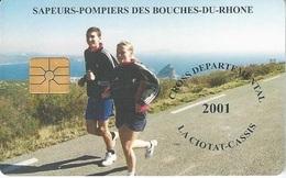 Télécarte Sapeurs-Pompiers Des Bouche Du Rhône - Feuerwehr
