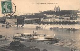 Lyon Bateau De Croisière Plaisance Mouche Le Parisien - Lyon