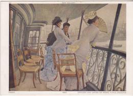 Postcard - Art - Tissot - Officers And Ladies On Board H.M.S Calcutta - VG - Non Classificati
