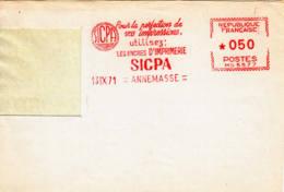 FRANCE - 1971 - SIGPA (encres D'imprimerie) Sur Fragment - Francia