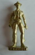 Figurine Kinder Métal - Butch Cassidy - Cowboy - Scame - Figurines En Métal