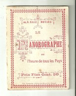"""3381 """"LE PANOROGRAPHE-OU L'HEURE DE TOUS LES PAYS-ING. G.VALLE-NOVARA"""" IN LINGUA FRANCESE-ORIGINALE - Strumenti"""
